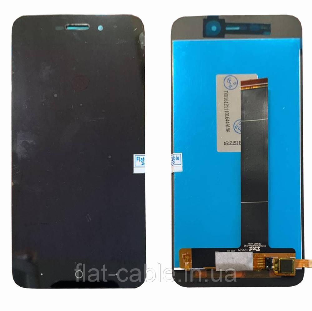 Дисплей + сенсор ZTE Blade A601 Черный