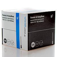 """Голка ін'єкційна 22G (0,7x30 mm) одноразова стерильна """"Vogt Medical"""" (100 шт/уп)"""