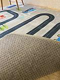 """Бесплатная доставка! Ковер в детскую  """"Дорожки хаки"""" утепленный 150 на 200 см, фото 4"""