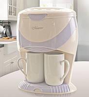 Кофеварка капельная 600Вт 220-240В (белая, черная)