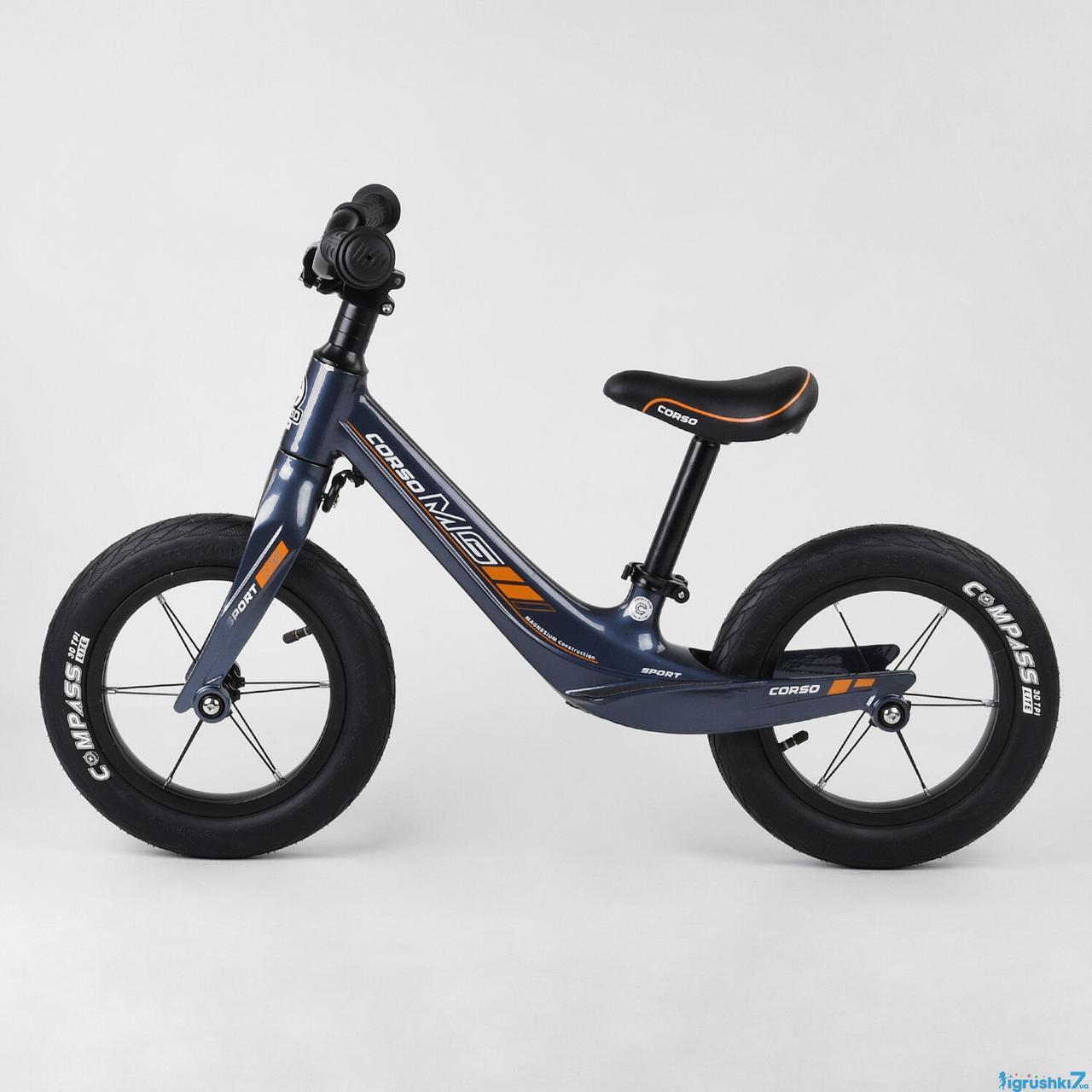 """Велобег Corso 46564  колесо 12"""", магниевая рама, алюминиевый вынос руля, в коробке"""