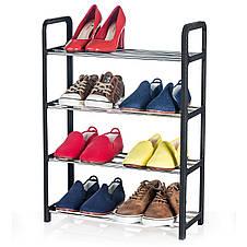 Подставка для обуви Tatkraft Artmoon Banff 4х ярусная 50x20x68 cм (699904), фото 3
