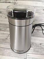 Кофемолка электрическая нержавейка 280W Promotec PM 599 | Кухонный измельчитель кофейных зерен кофе специй