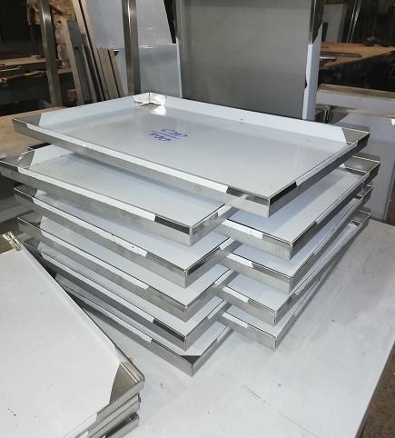 Листи 600х400х20 з нержавіючої сталі 201
