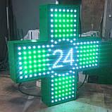 """Аптечний хрест 600х600 світлодіодний односторонній. Серія """"Twenty-Four"""", фото 2"""
