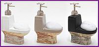 Дозатор диспенсер Bona-105 для жидкого мыла с кухонной губкой BD-853-105