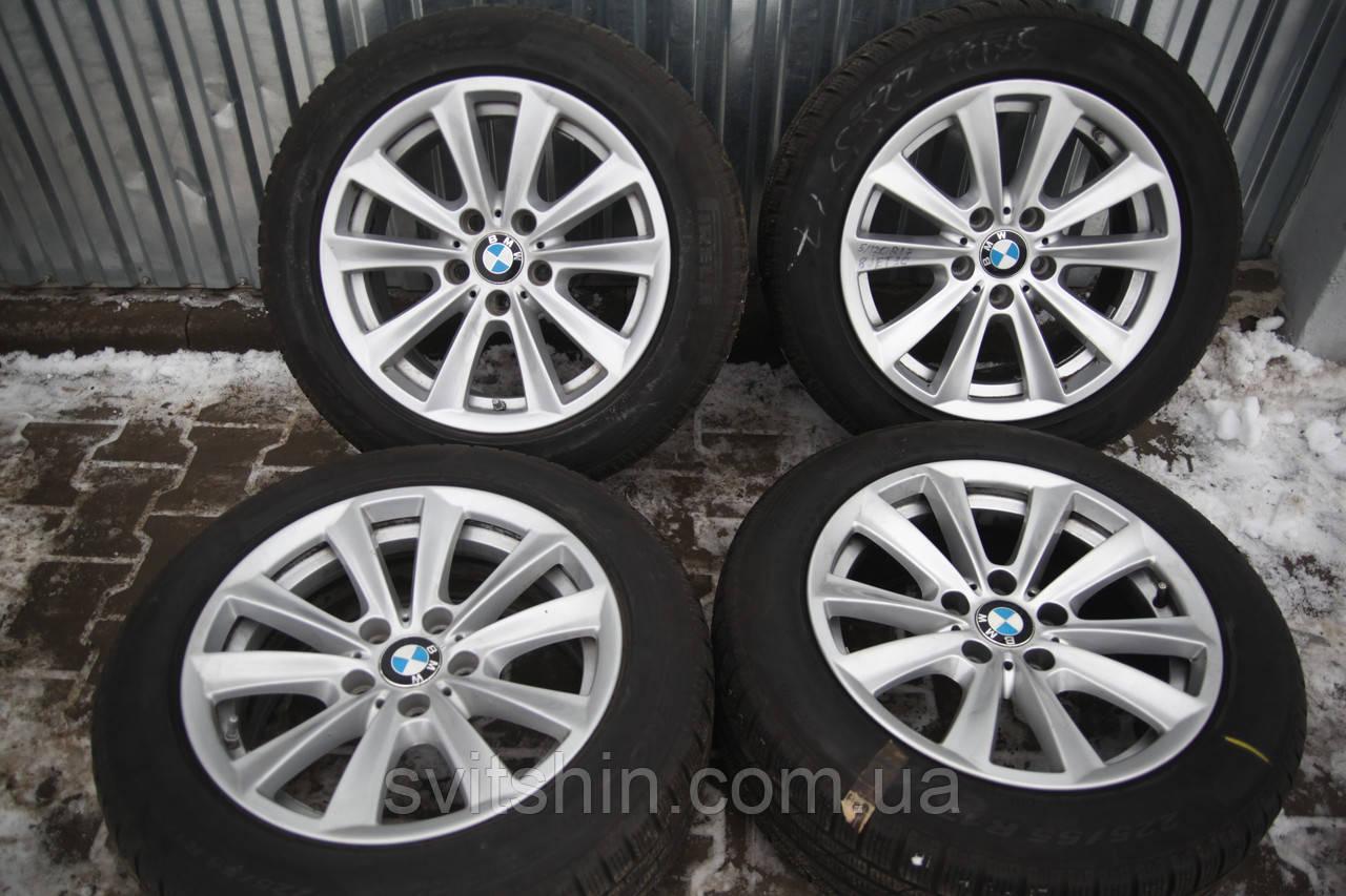 Диски BMW F10 F11 5/120 R17 8J ET30 + зима 225/55R17 Pirelli