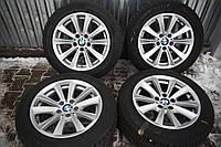 Диски BMW F10 F11 5/120 R17 8J ET30 + зима 225/55R17 Pirelli, фото 1