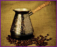 """Турка для кофе медная """"Нимфы"""" 500мл ST-50081"""
