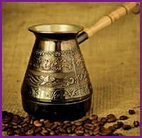 """Турка для кофе медная """"Цветы"""" 500мл ST-50083"""