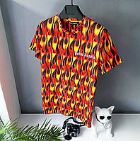 Футболка мужская Palm Angels яркая модная летняя свободная чоловічий одяг модна футболка