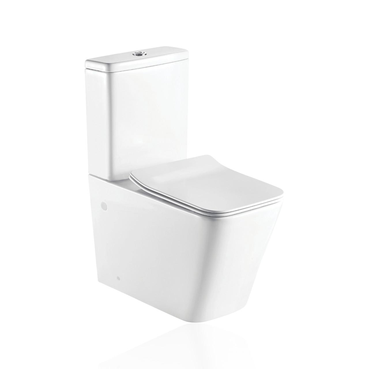 KVADRO комплект : унитаз напольный с сидением Soft-close + бачок