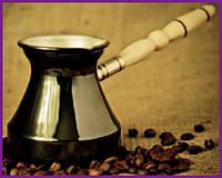 Турка для кофе медная цельнокатаная 300мл со съемной ручкой ST-50086