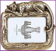"""Рамка для фотографий фоторамка """"Гепард"""" для фото 10х15см, состаренное золото BD-450-199"""