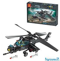 """Конструктор 2633  """"Вертолет S.W.A.T"""" 203 деталей, в коробке"""