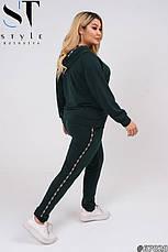 Костюм спортивний трикотажний жіночий розміри: 48-58, фото 2
