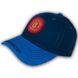 Бейсболка летняя с логотипом, 54 р. синяя