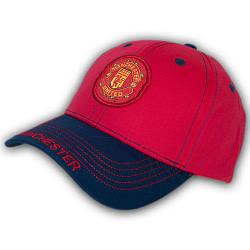 Бейсболка летняя с логотипом, 54 р. красная