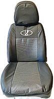 Чехлы автомобильные на сидения ВАЗ 21099 /2115 Лада 21099/2115 Lada комплект модельный Престиж