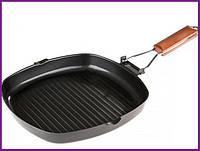 Сковорода сковородка-гриль Empire 28х28см со складной ручкой EM-7538