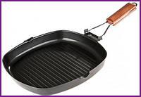 Сковорода сковородка-гриль Empire 24х24см со складной ручкой EM-7537
