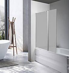 Стеклянная шторка для ванны Avko Glass 542-1 40+80x140 Frosted