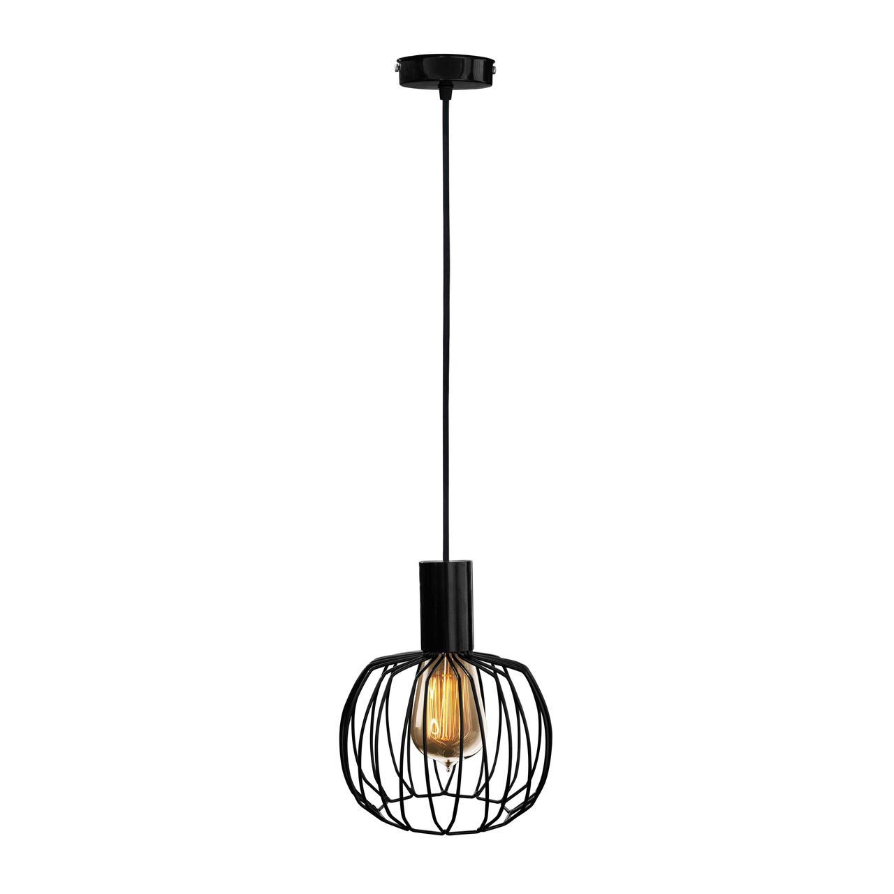 Светильник подвесной MSK Electric NL 200 черный глянец