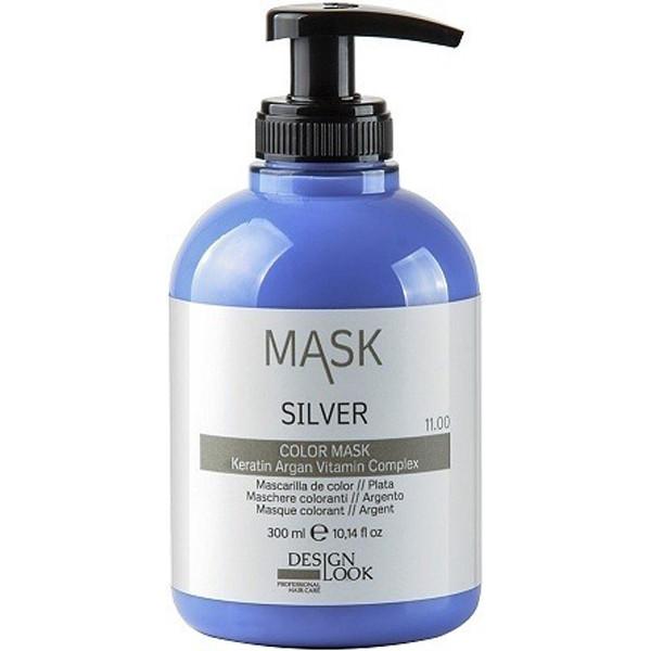 Тонирующая маска для волос c кератином Design Look Color Mask 11.00 Silver 300 мл