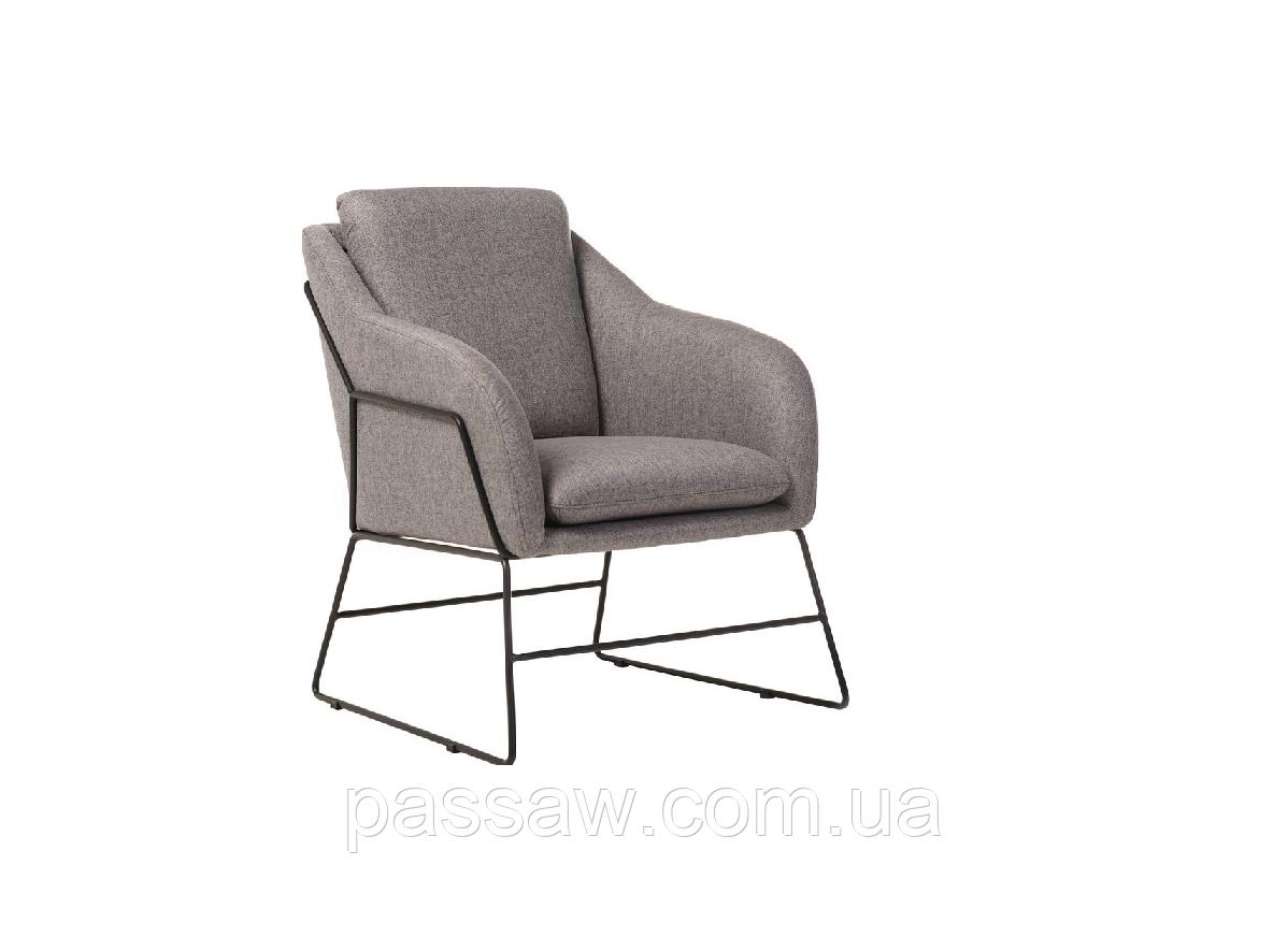 """Кресло """"Дарио"""" серый"""