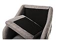 """Кресло """"Дарио"""" серый, фото 4"""