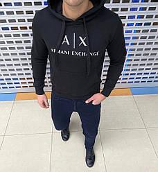 Худі чоловіча з капюшоном «AX»