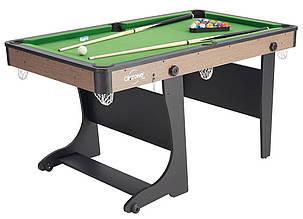Складаний більярдний стіл Air Zone 5 футів 152 х 84 х 79 см для дорослих і дітей
