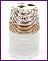 """Подставка стакан для зубных щеток """"Халкида-I"""" Ø7х10.5см BD-853-142"""
