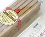 Палочки для еды бамбук в блистере набор 10 пар, для суши, фото 2