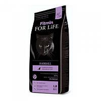 Корм для взрослых длинношерстных котов Fitmin Cat For Life Adult Hairball 1.8 кг