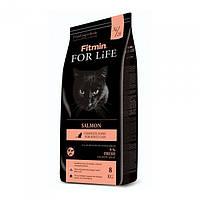 Корм для взрослых котов Fitmin Cat For Life Adult Salmon 8 кг