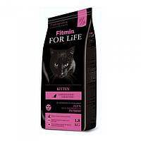 Корм для котят, беременных и кормящих кошек Fitmin Cat For Life Kitten 1.8 кг