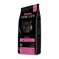 Корм для котят, беременных и кормящих кошек Fitmin Cat For Life Kitten 8 кг