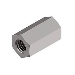 Гайка Нержавейка Шестигранная(Соединительная)Переходная М10 * 30 мм А2 DIN6334