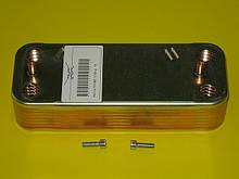 Вторинний теплообмінник (14 пластин) 6SCAMPIA01 Fondital Tahiti / Pictor, Nova Florida Tahiti / Pictor