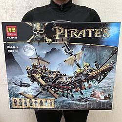 Конструктор Пираты Карибского моря Джек Воробей Безмолвная Мэри 2324 деталей Bela Pirates 10680