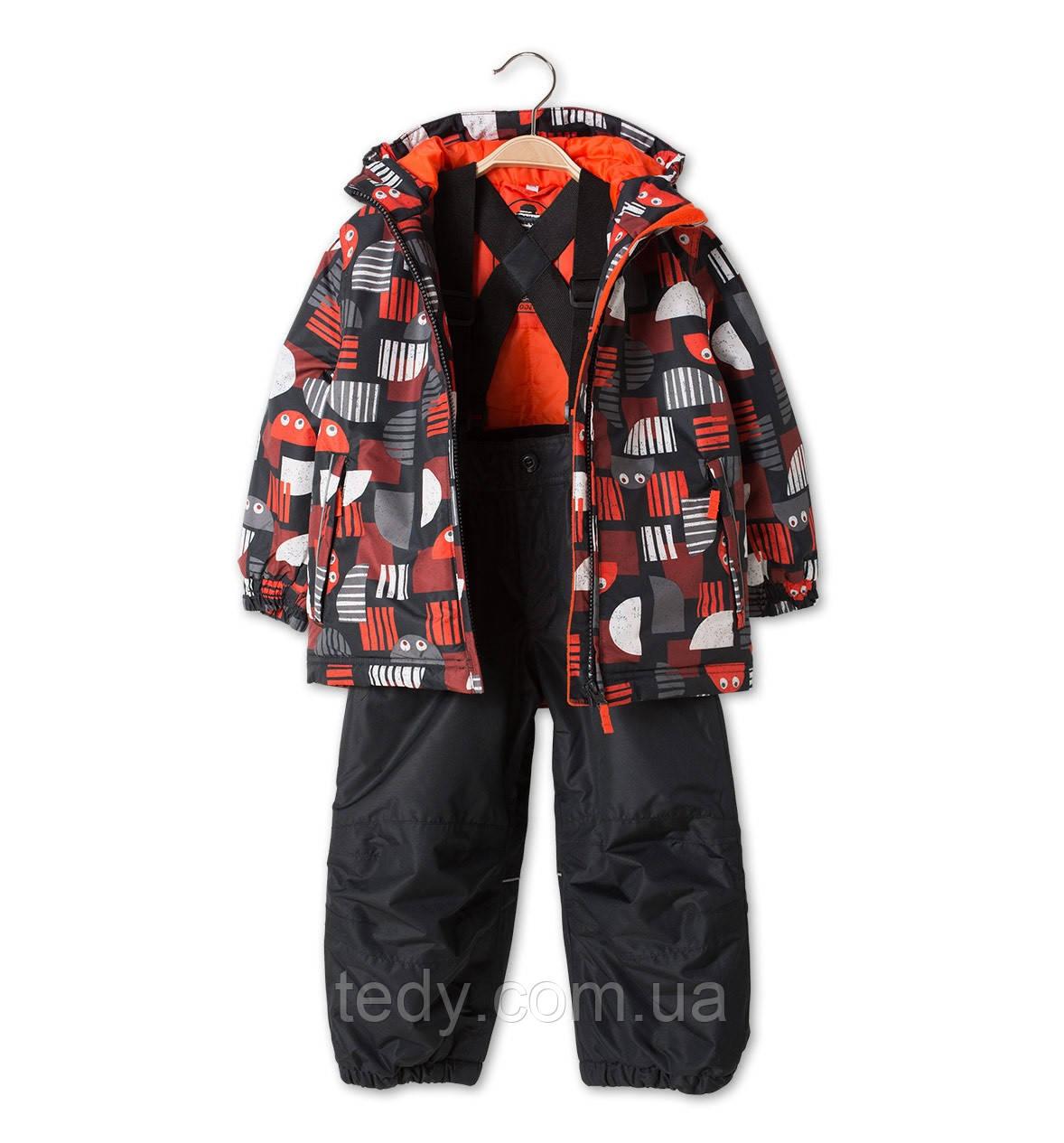 """Мембранный Термокомбинезон С&A Германия - лыжник до -20 мороза """"Чёрный"""""""