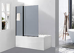 Стеклянная шторка для ванны Avko Glass 542-8 100x140 Frosted