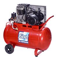 ☑️ Компресор поршневий з ремінним приводом, 100л, 360л/хв, 220V, 2,2 кВт FIAC AB100-360-220-СНД