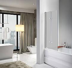 Стеклянная шторка для ванны Avko Glass 647 100x140 Frosted