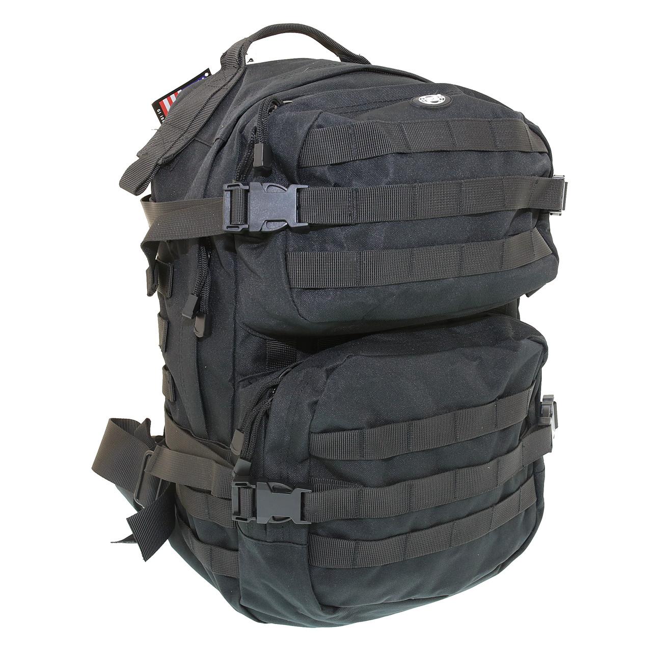 Рюкзак чорний тактичний 40 літрів Max Fuchs Assault II Black, 30343A