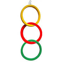 Игрушка для попугаев 3 кольца