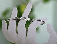 Оригинальные двойные кольца с шипами  .33