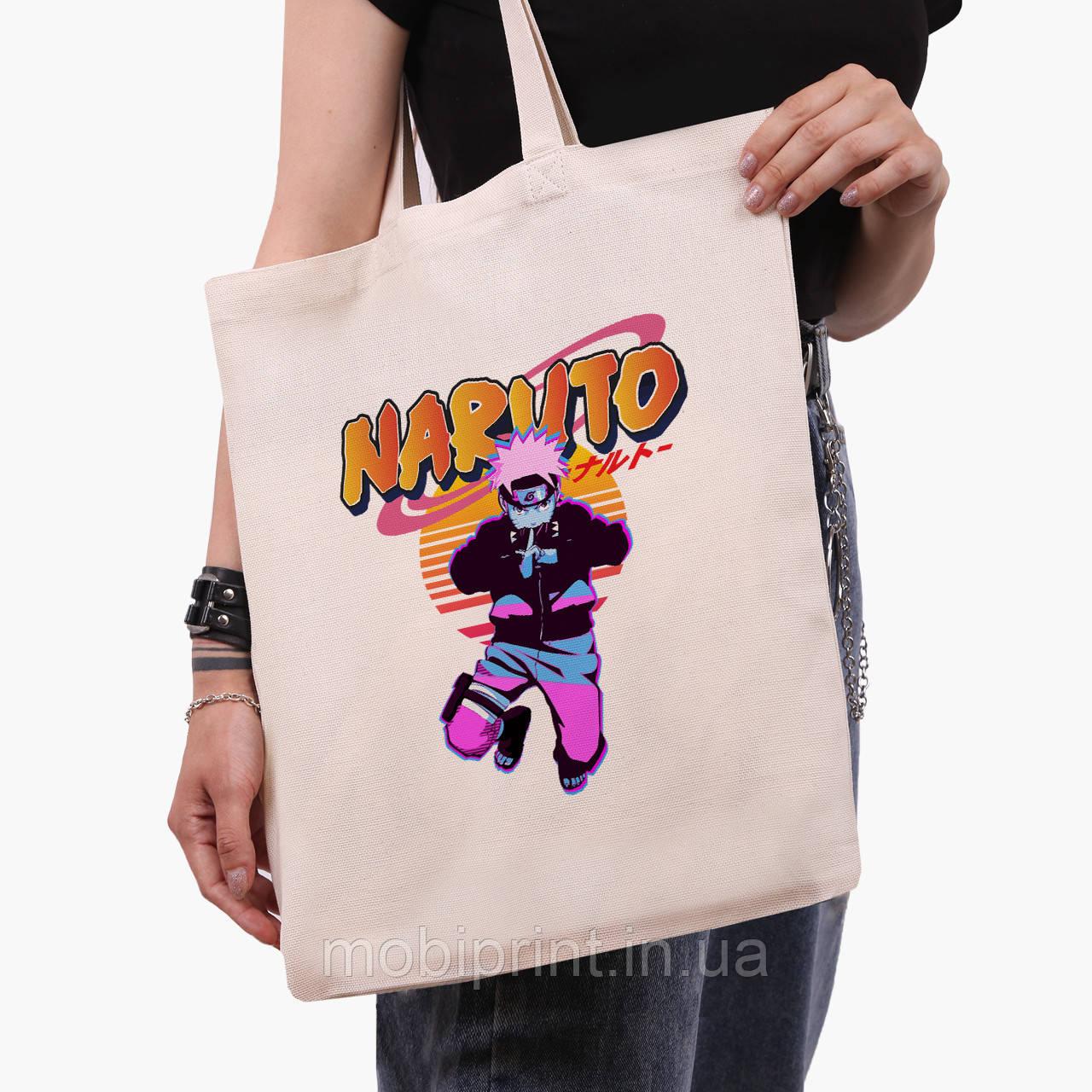 Еко сумка шоппер Наруто Узумакі (Naruto Uzumaki) (9227-2629) 41*35 см