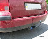 Фаркоп Skoda Superb (Шкода Суперб) 2002-2008 ліфтбек/седан/універсал. гак зйомний, фото 3